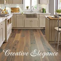 Stop by your local Floors To Go showroom today and explore all of the latest styles and colors of Creative Elegance vinyl today!